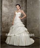 High Quality!   White Ball Gown Wedding Dresses Wedding Attire Dresses Pageant Dress Custom Made Size 2-10 12-20 JLW923342