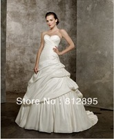 High Quality!   White Ball Gown Wedding Dresses Wedding Attire Dresses Pageant Dress Custom Made Size 2-10 12-20 JLW923342