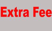 $1 Extra Fee  1USD