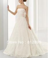 High Quality!   Ivory Ball Gown Wedding Dresses Wedding Attire Dresses Pageant Dress Custom Made Size 2-10 12-20 JLW923344