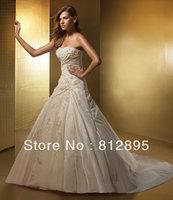 High Quality!   White  Ball Gown Wedding Dresses Wedding Attire Dresses Pageant Dress Custom Made Size 2-10 12-20 JLW923345