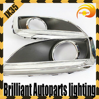 Free Shipping LED DRL Daytime Running Light Fit For 2010 2011 2012 2013 Hyundai Tucson IX35 2pcs/set