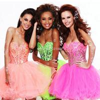 sexy crystal short imported party dress for new year 2015 vestido de festa longo party dresses robe de soiree black dress