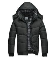 Fashion Mens Casual Outdoor Coat Hooded Winter Warm Parka Jacket