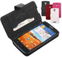 Free shipping original luxury wallet leather cove case for Coolpad 7295 7295A  with retail package
