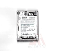 "Free Shpping WD 2.5"" SATA 500GB 7200RPM 16M WD5000BPKT HARD DISK DRIVE FOR LAPTOP 1 YEAR WARRANTY"