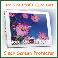 5pcs Clear Screen Protector Guard Film for Cube U39GT Quad Core Tablet PC 9 inch No Retail Package Size 230x150mm