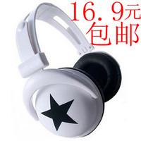 2013 NEW Big earphones skull fashion headset earphones mp3 mobile phone computer headset earphones