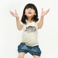 children's clothing o-neck casual short-sleeve T-shirt 1126200