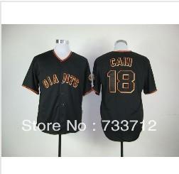 new style Men's Cheap Baseball Jerseys San Francisco Giants 18 Matt Cain jersey Size:48-56, hot sale