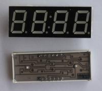 "NEW 1 X 0.56"" 4 DIGIT 7-Segment Red LED Time display CA Freeship"