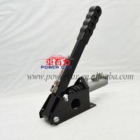 "Universal Vertical Lockable 45-90 Degree Hydraulic Handbrake Hand Brake With 0.75"" Master Cylinder"