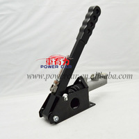 "Universal Vertical Lockable 45-90 Degree Hydraulic Handbrake Hand Brake With 0.75"" Master Cylinder"