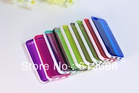 200pcs/lot For iphone 5c iphone5c cell phone mobile phone New Crystal Clear Jelly Silicon Soft TPU Case Cover Skin