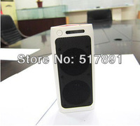 Tri Bluetooth Speaker Portable Mobile Soundbox 2400mAh Battery Backup Charger Power Bank supply