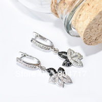 Free shipping 2013 new sweet Jewelry Earring indian earringsfor women  925 Silver for earring set TZ0101-E