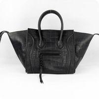 Luggage Phantom Tote Bag Leather Handbag in Croco Printed Leather 88033