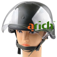 Military Army Solid Helmet Casque with Full Face Shield for Outdoor Activity Field Operation Games Motorcycle Riding