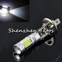 2pcs High Power H1 7.5W Cree 5 LED Pure White Fog Head Tail Driving Car Light Bulb Lamp
