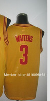Cheap Sale#3 Dion Waiters gold Men's  Basketball jerseys free shipping accept mix order