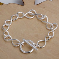 Free shipping 925 sterling silver jewelry bracelet fine fashion bracelet top quality wholesale and retail SMTH139