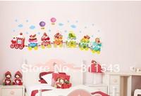 New Design/Cute Ice Cream Choochoo Kids Likeing decal /Sticker Removable/Art Sticker Decor Factory  H769