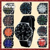 Fashion High Quality Men Quartz Watch Rubber Strap Ten Color Famous Brand ORKINA  Wholesale 100pcs/lot EMS DHL