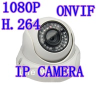 2.0MP Million HD 1080P H.264 Newtork IP Camera Security Onvif Waterproof Dome IR Camera