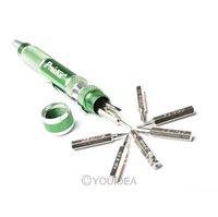 New 9 in 1 Aluminum Handle Precision Screwdriver Set SD-9814 Repair Tool 81970