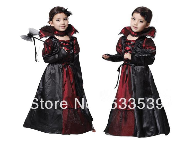 Back  gt  Imgs For  gt  Kids Vampire Costume GirlsVampire Queen Costume For Kids