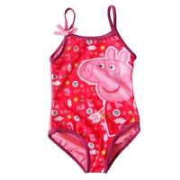 2013 female child one-piece swimsuit child swimwear children swimwear infants swimwear assuming pig