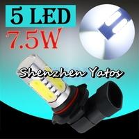 2pcs High Power LED Bulb 7.5W Fog Driving Lights Bulb Lamp H10 9005 HB3
