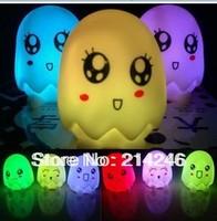 Led egg changing coulur light , night light ,Lovely Multi Colors Changing Eggshell LED Flash Night Light Lamp For Children Gifts
