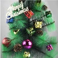 New Arrival Wholesale 30packs/lot ( 11pcs/pack) Pine Nut Ball Bow Santa Claus Decor,Christmas Tree Decoration ,Christmas Gift