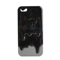 3D Design Melting Ice Cream Hard Case Protector for Apple iPhone 5 Lovely V3NF