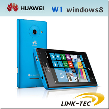 "New Huawei W1 Windows 8 WP8 4.0"" ips screen Qualcomm Dual Core 1.2GHz 512MB RAM 4G ROM original smartphone"