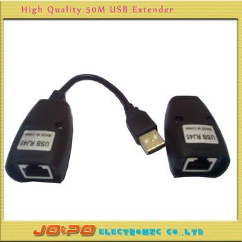 HOT!10pcs/lot USB Extender CAT5/CAT5E/6 RJ45 Ethernet Extender Lan Extension Cable Repeater Adapter Wholesale Freeshipping!