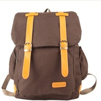 2013 New Special Offer Big Canvas  Backpacks School Bags For Women Free Shipping Wholesale CB-030