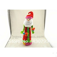 Free Shipping Wholesale  Arts christmas Decoration ,Fashion Christmas Gift, Multicolour stereo retractable Christmas father