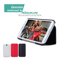 for Smasung Galaxy Note II 2 N7100 Case Original Genuine Nillkin Victory Series Flip Skin Leather Case Cover, Cell Phone Cases