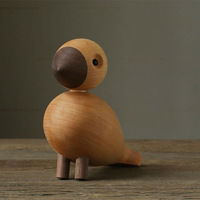 Kay bojesen series wood carving classic decoration songbird bird