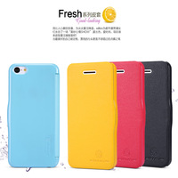 For iphone 5c leather case folding cover nillkin brand with retail packaging