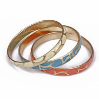 Minimum Order $20 (mixed order)  Fashion accessories finishing retro bohemia multi-colored candy glaze bracelet