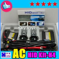 freeshipping 55W H4-3 Hi/lo hid xenon kit 6000K
