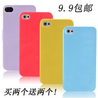 For apple   phone case  for iphone   4s holsteins protection shell ultra-thin candy silica gel soft case 5 shell