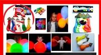 Good quality LED ballon flashing balloon light up balloon for christmas flashing novelty blinking balloon