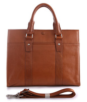 Free Shipping Newest Fashion High Quality Brown 100% Genuine Leather JMD Briefcase men Message Bag Shoulder Bag #7179B