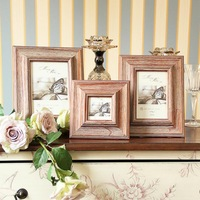 Continental Wood Photo Frame Wall Wall Photo Creative Wedding Supplies ,Free Shipping