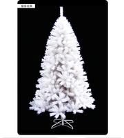 1.8m PVC white christmas trees wholesale free shipping