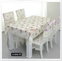 Peony multi-purpose towel cover tablecloth table linen table cloth table cloth dining chair covers rustic lace fabric